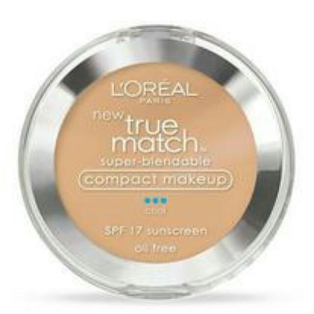 巴黎萊雅粉餅盒L'OREAL true match