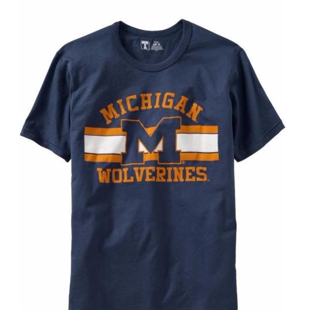 OLD NAVY University Of Michigan 球隊短T