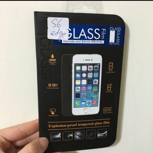 S6 Edge 玻璃保護貼