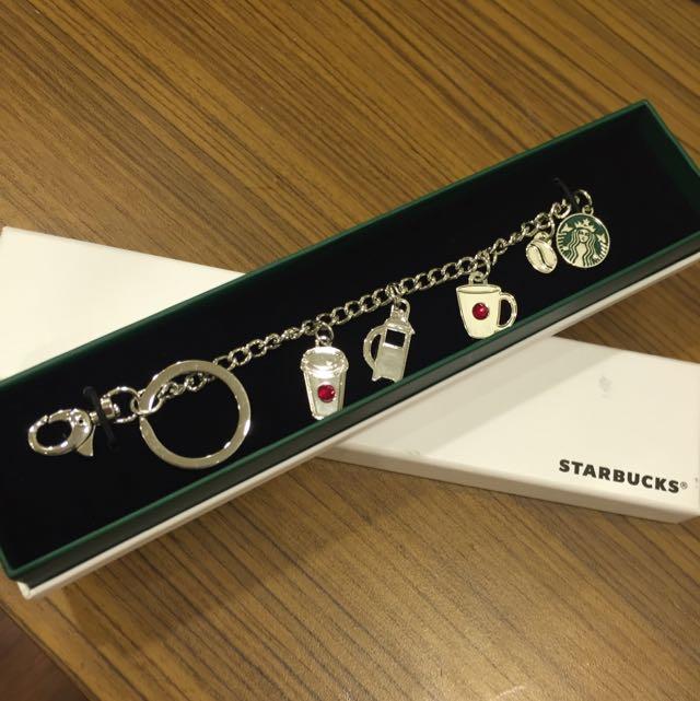 Starbucks星巴克水晶手鍊