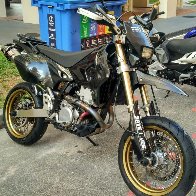 Suzuki DRZ 400 SM K9, Cars on Carousell