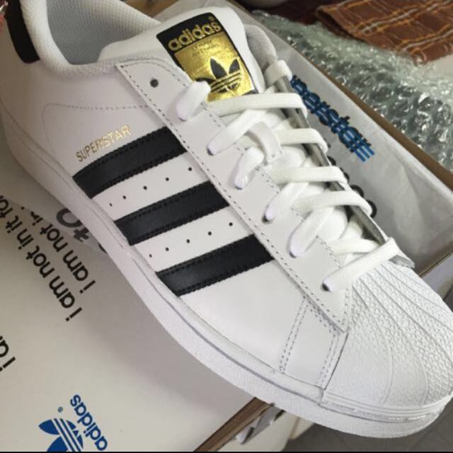 adidas superstar gold label black
