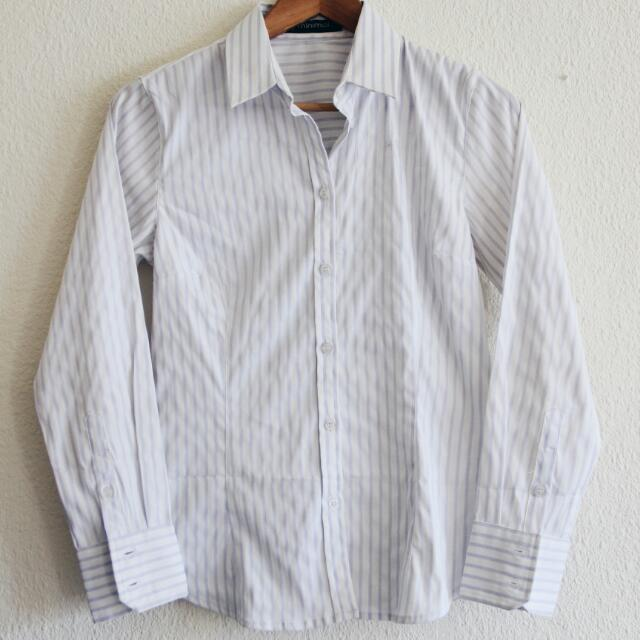 Business Striped Shirt