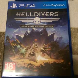 PS4 遊戲 多人 射擊 Helldivers 絕地戰兵 二手 (商品價格含運費