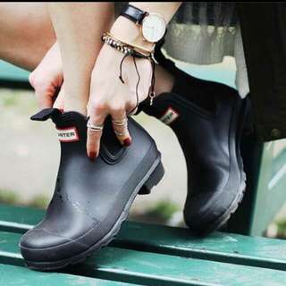收購hunter短靴