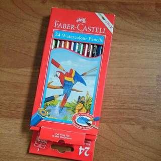 FABER CASTELL 24 Watercolor Pencils