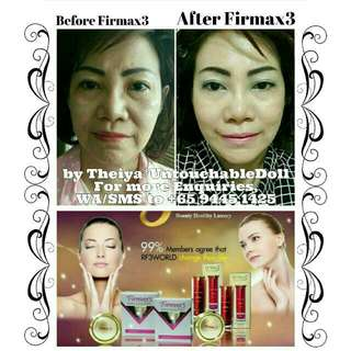 FIRMAX3 World Miracle All-In-One Beauty & Health Therapy Cream which you won't expect it's Crazy, Instantly Effectiveness that You Would Need Daily.