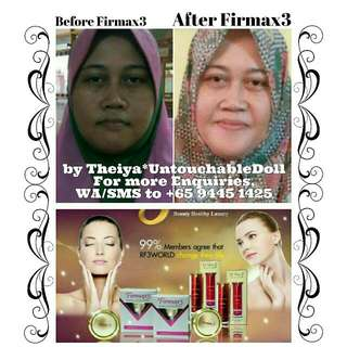 FIRMAX3 All-In-One Beauty & Health Therapy Cream which you won't expect it's Miraculously Crazy, Instantly Effectiveness that You Would Need Daily.