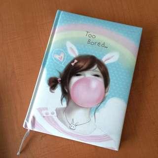 Cute Girly Notebook
