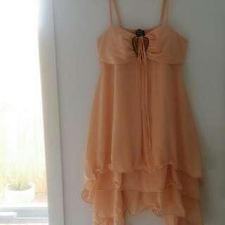 Silk Dress   Size 14   As New