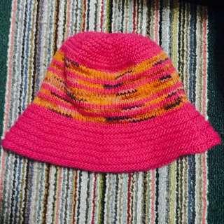 保暖毛線漁夫帽