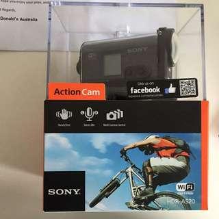 (pending) BRAND NEW Sony Action Cam HDRAS20