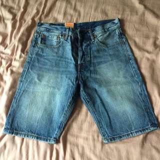 Levis501牛仔短褲