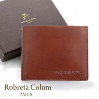 Roberta Colum 原皮質感皮夾 真皮牛皮