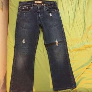 Levi527 直筒牛仔褲