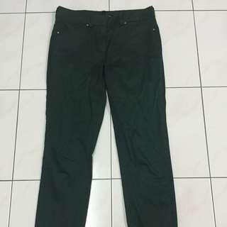 MNG Suit Green Slim Fit Trouser
