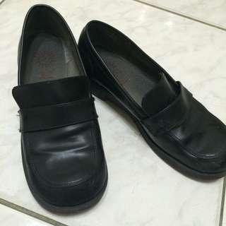 黑學生皮鞋 24號