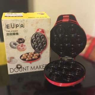 EUPA(優柏)甜甜圈機TSK-2182DT(點心,早餐,下午茶的最佳選擇)