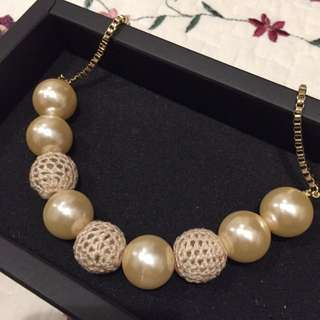 大珍珠項鍊