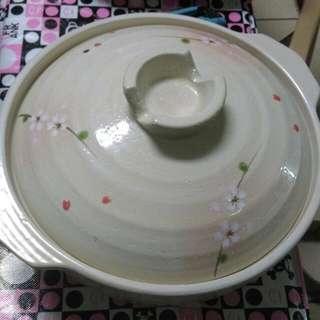粉櫻暖暖陶鍋