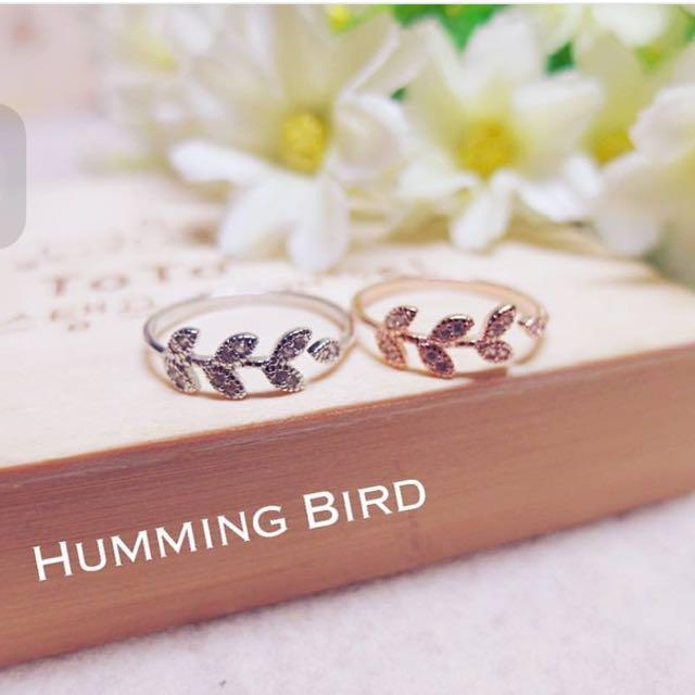 月桂女神純銀戒指