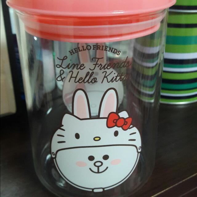 全新-小七玻璃罐
