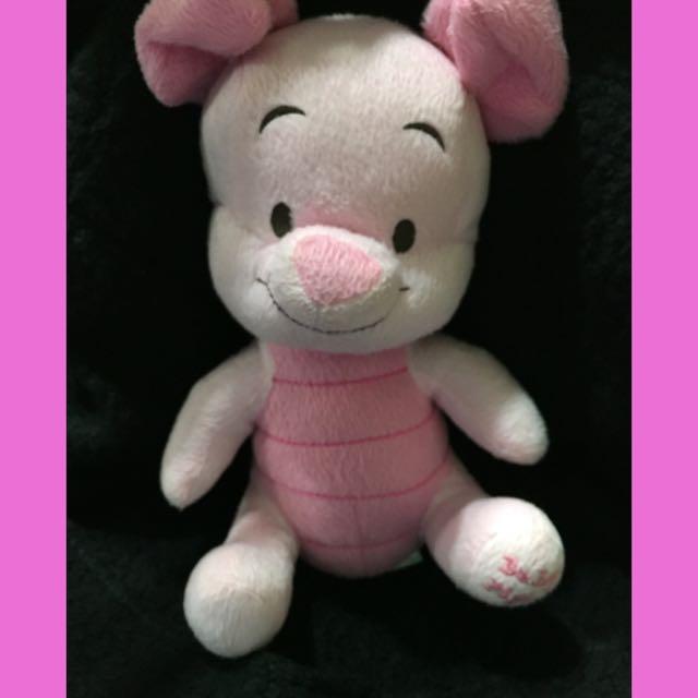 維尼朋友小豬 超級舒壓口愛娃娃