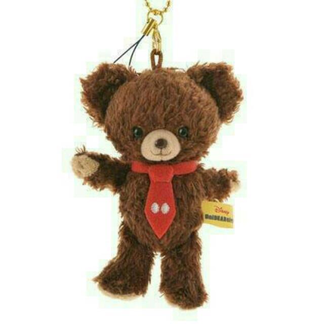 全新✨ 大學熊吊飾