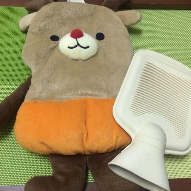 麋鹿造型 暖水袋