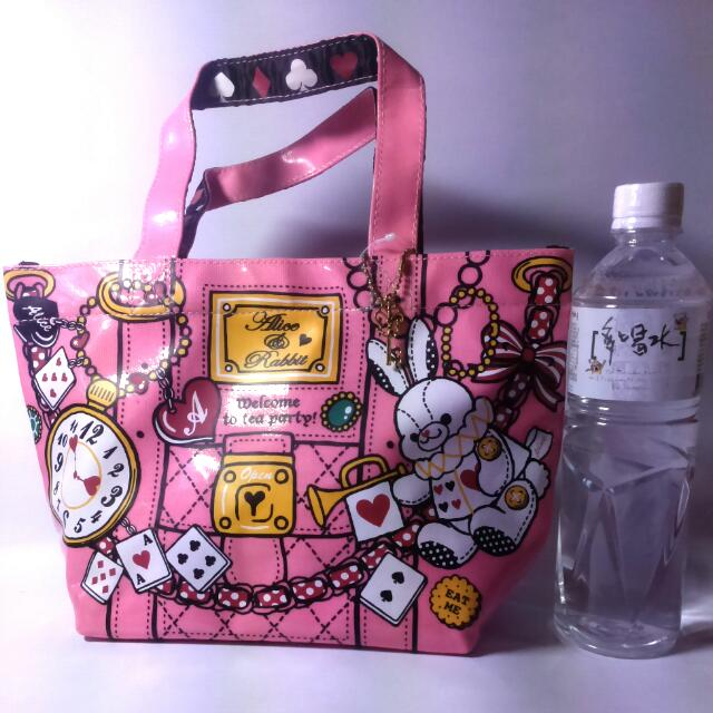 愛麗絲兔子包 小提包 手提包