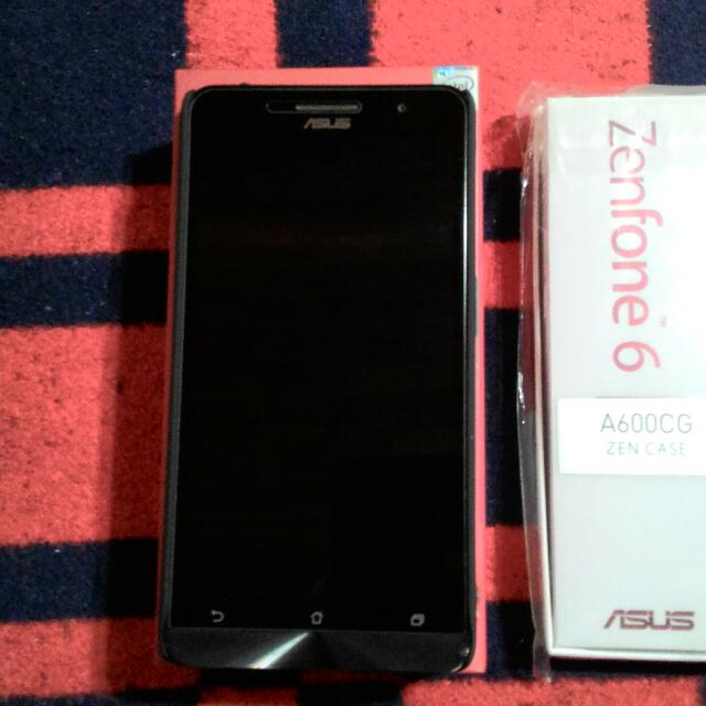 ASUS ZenFone6 紅色 雙卡雙待