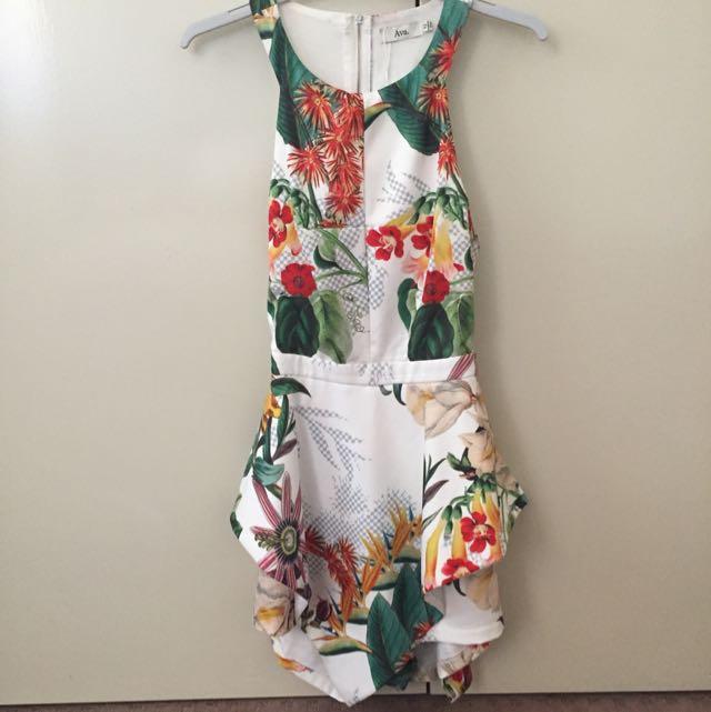 Ava Floral Jumpsuit