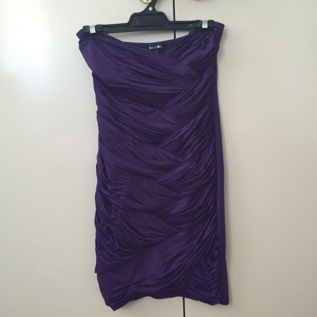 Black Fox Purple Dress