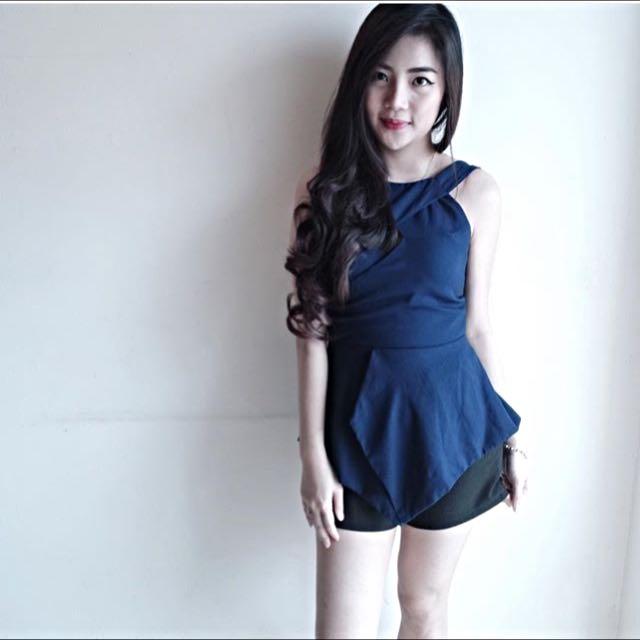 Blue X TOP