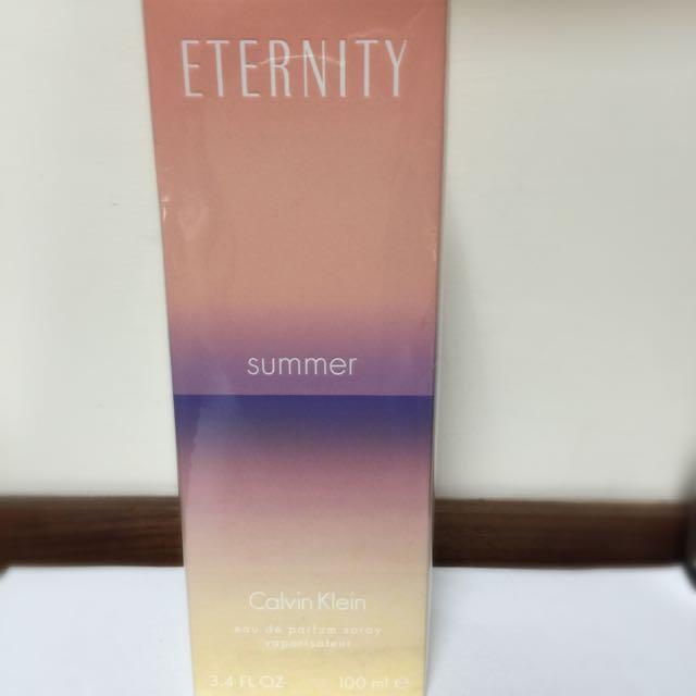 Ck Eternity Summer 2015 永恆夏日限量版女性淡香精 100ml