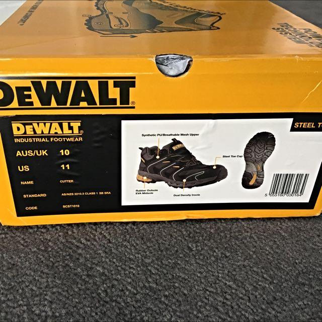 De Walt Steel Capped Boots