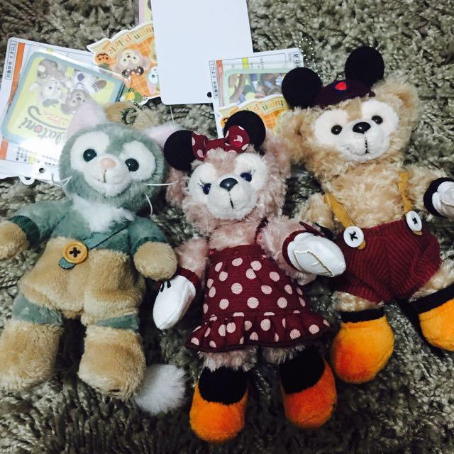 日本迪士尼限定萬聖節絕版Duffy