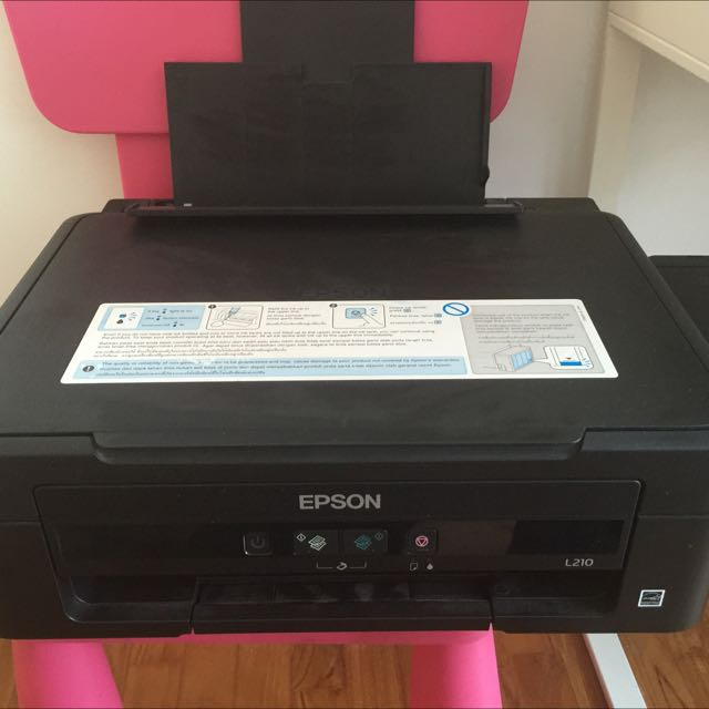 EPSON L210 Printer With Ink Tank System, Electronics on