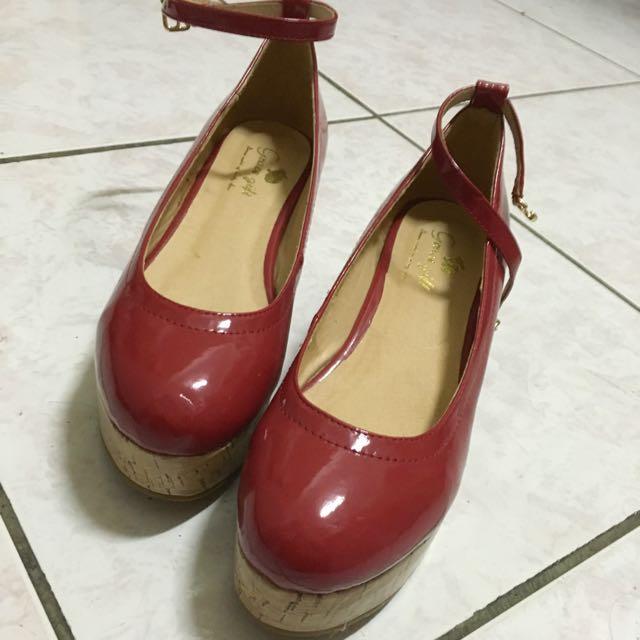 Grace gift 楔型鞋