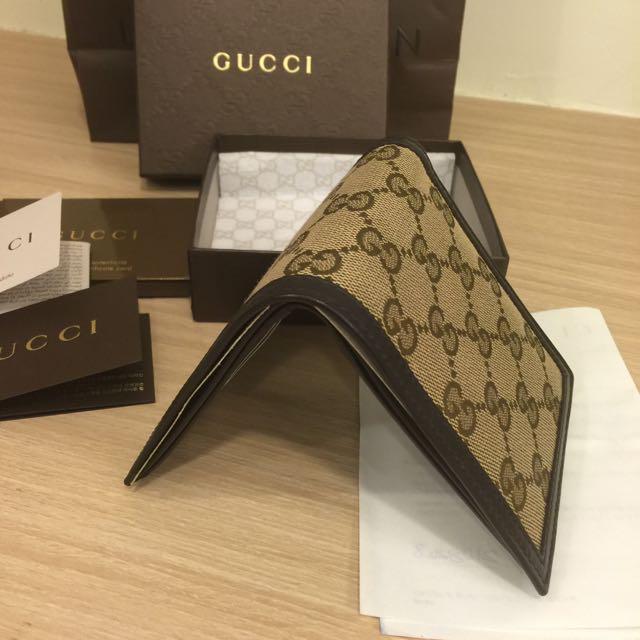 Gucci 短夾 全新 有購證 男女適用 誠可議