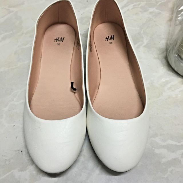 H&M白鞋 👟