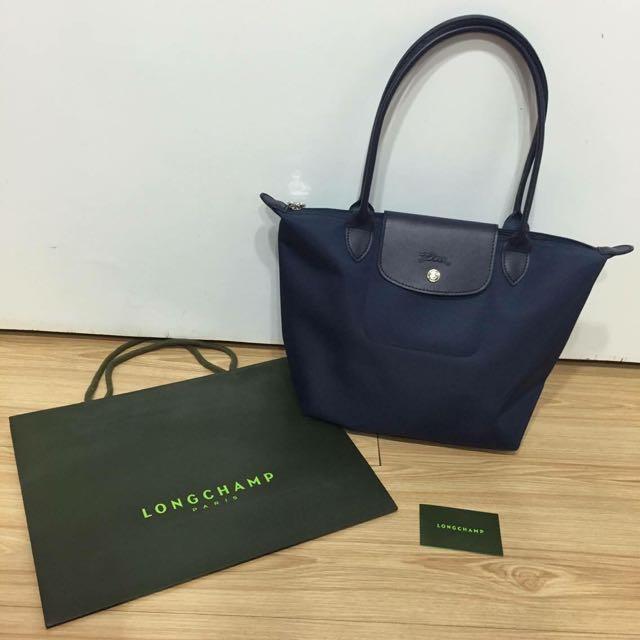 Longchamp Planters 2605 長柄s (藍)