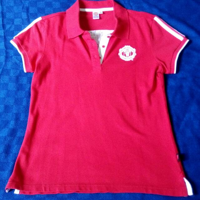 d7866ae7e Manchester United Polo Tee (Ladies)