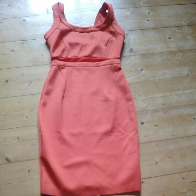 New with tags Orange Dress Size 8