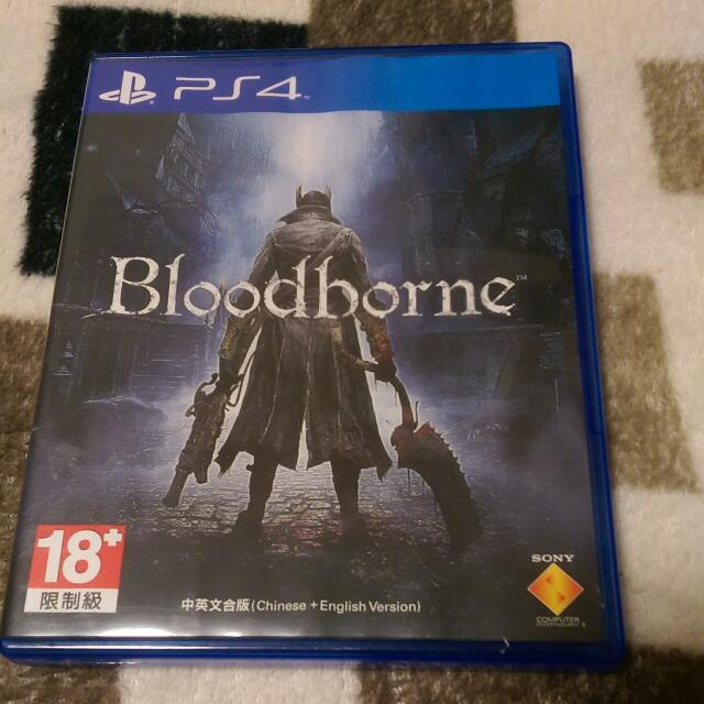 PS4 遊戲 Bloodborne 血源詛咒 遠古獵人 動作 中文 二手 (商品價格含運費,店到店