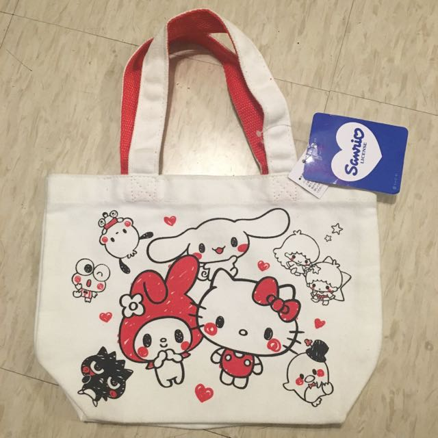 Sanrio Hello Kitty 帆布托特包