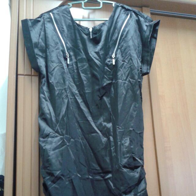 ♣New Satin Long Dress