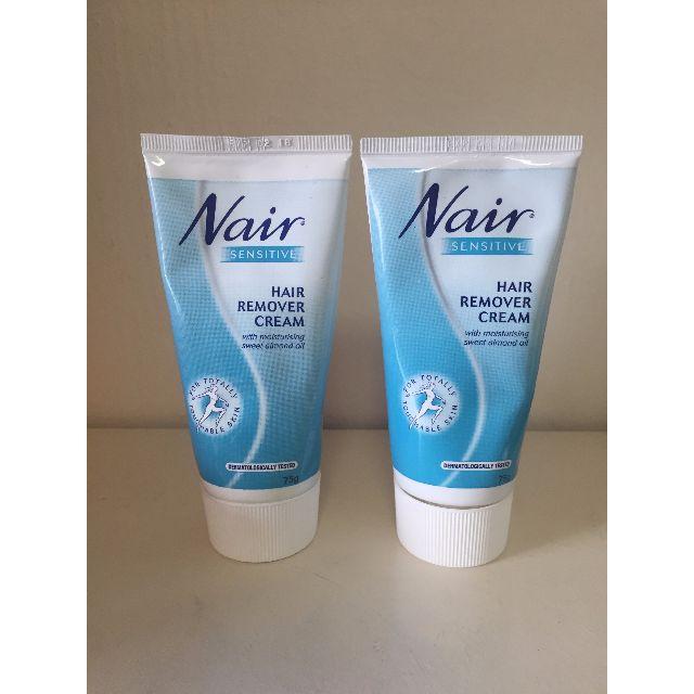 Set of 2 Nair Hair Removal Cream for Sensitive skin