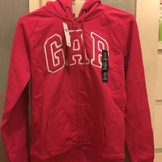 日本購入 Gap經典外套 桃紅色 女生S號
