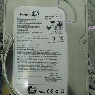Seagate Barracuda 7200.12 250GB